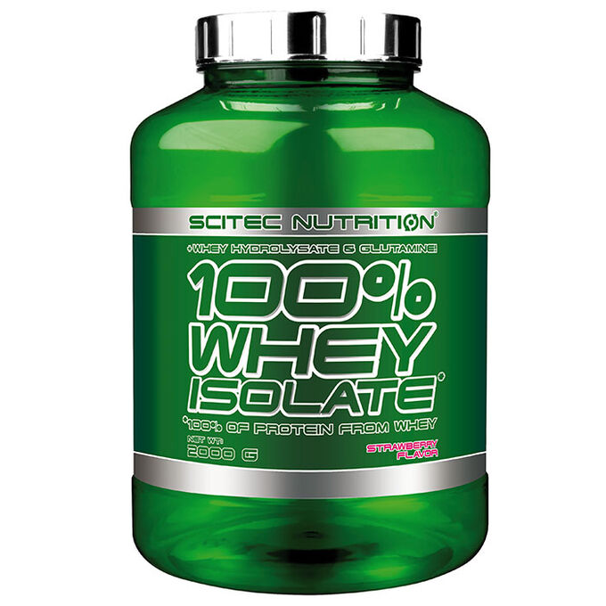 Whey Isolate 2000g Strawberry