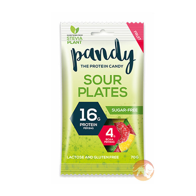 Pandy Sour Plates Candy 1 Bag