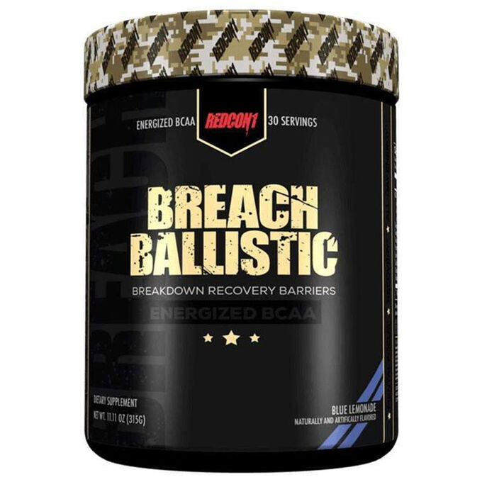 REDCON1 Breach Ballistic 30 Servings Blue Lemonade
