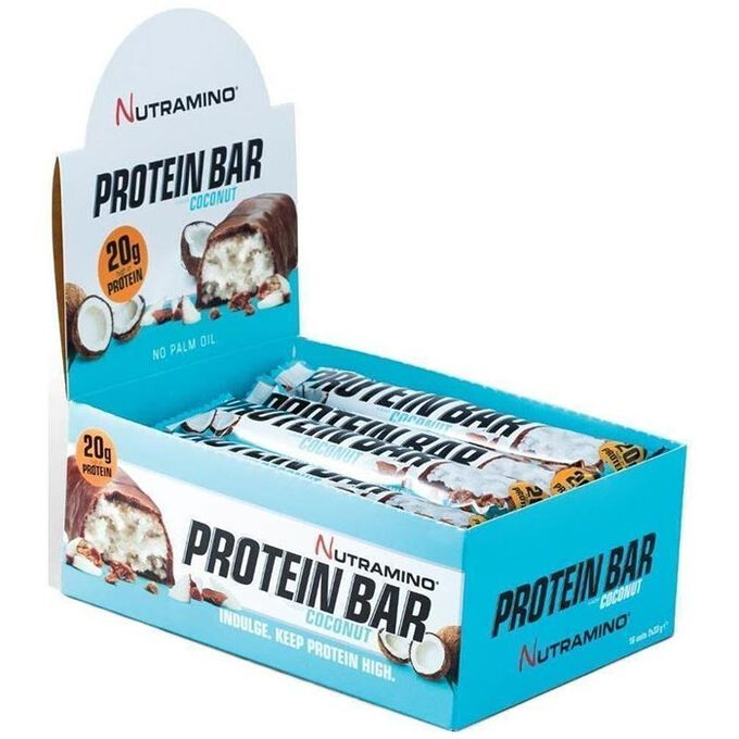 Nutramino Protein Bar 16 Bars Coconut