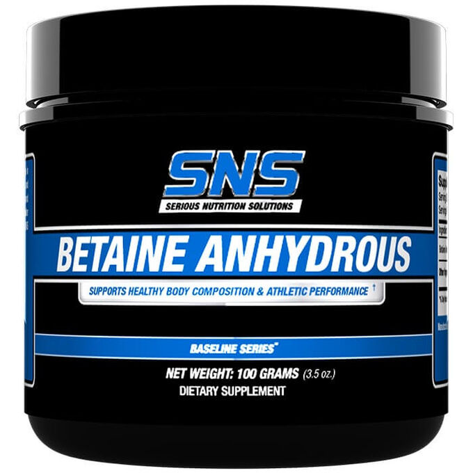 Serious Nutrition Solutions Betaine Anhydrous 100g