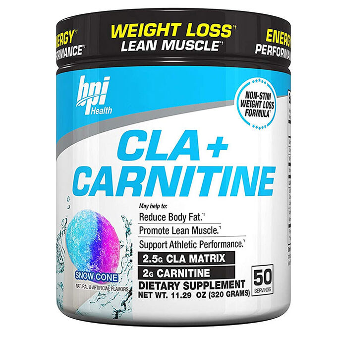 CLA + Carnitine 50 Servings Snowcone