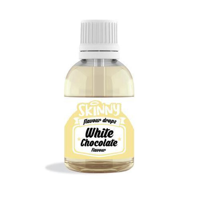 The Skinny Food Co Sugar Free White Chocolate Flavour Gourmet Drops 50ml