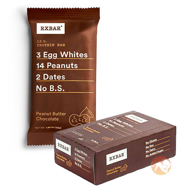 RX Bar 12 Bars Peanut Butter Chocolate