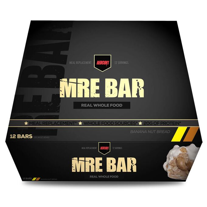 REDCON1 MRE Bar 12 Bars Banana Nut Bread