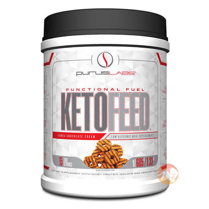 Ketofeed 15 Servings Samoa Chocolate Creme