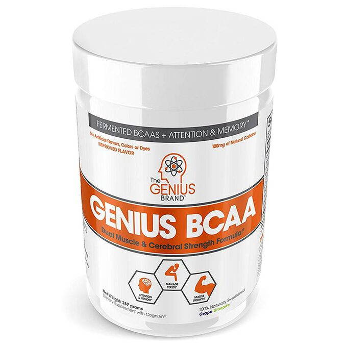 Genius BCAA 21 Servings Grape Limeade