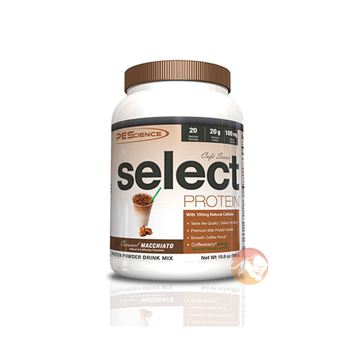 Select Protein Cafe Series 20 Servings Vanilla Frappe
