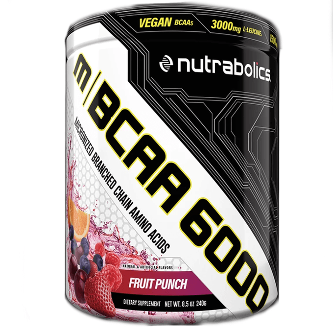 Nutrabolics m|MBCAA 6000 30 Servings Iced Raspberry