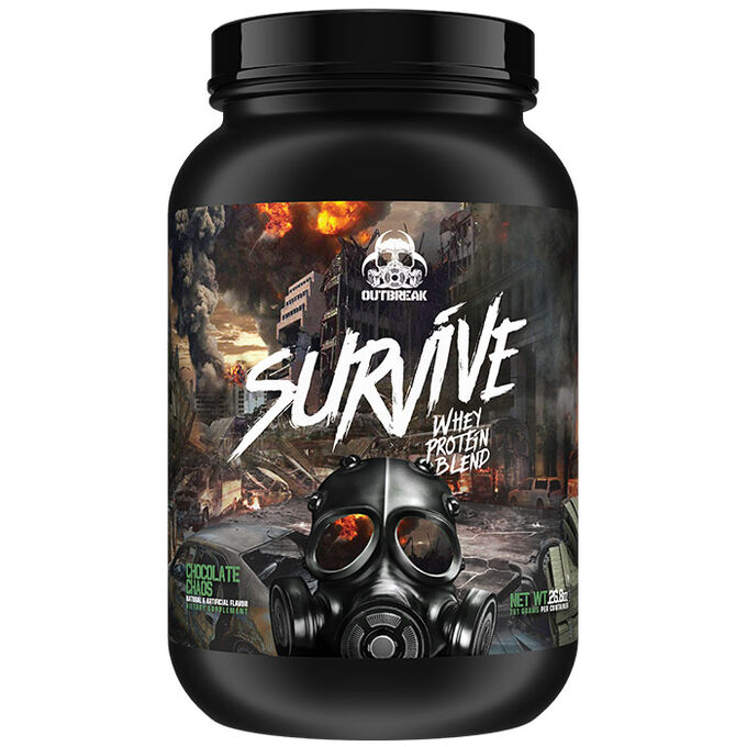 Outbreak Nutrition Survive 752g Vanilla Honey Vengeance