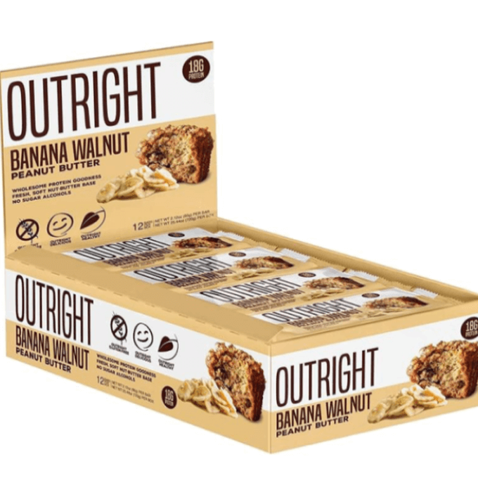 MTS Nutrition Outright Bar 12 Bars Peppermint Cookies and Cream