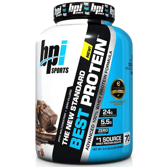 BPI Sports Best Protein 2.27kg Chocolate Brownie