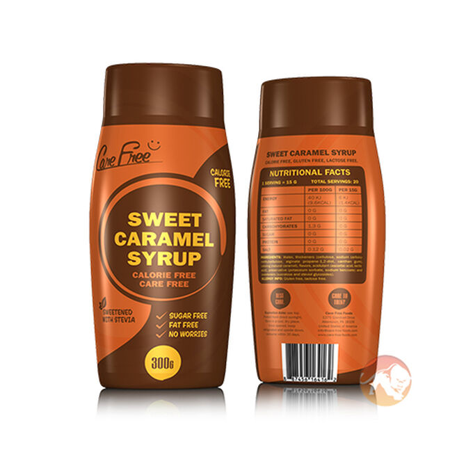 Care Free Care Free Syrup 300g Sweet Caramel