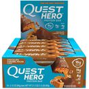 Quest Hero Bar 10 Bars Chocolate Caramel Pecan