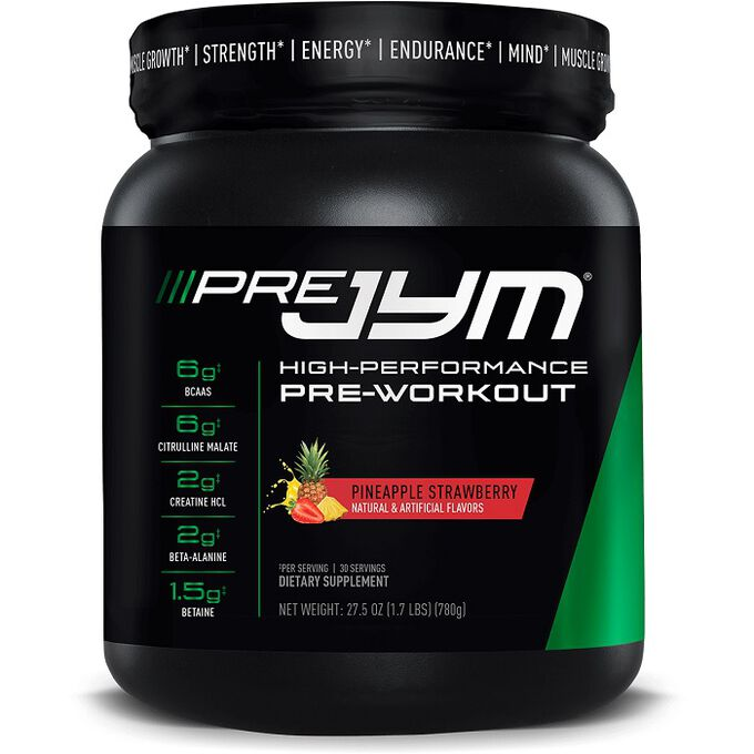 JYM Supplement Science Pre JYM 30 Servings Natural Island Punch