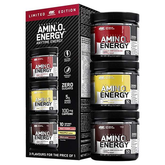 Amino Energy 3 x 10 Servings Limited Edition Multi Pack