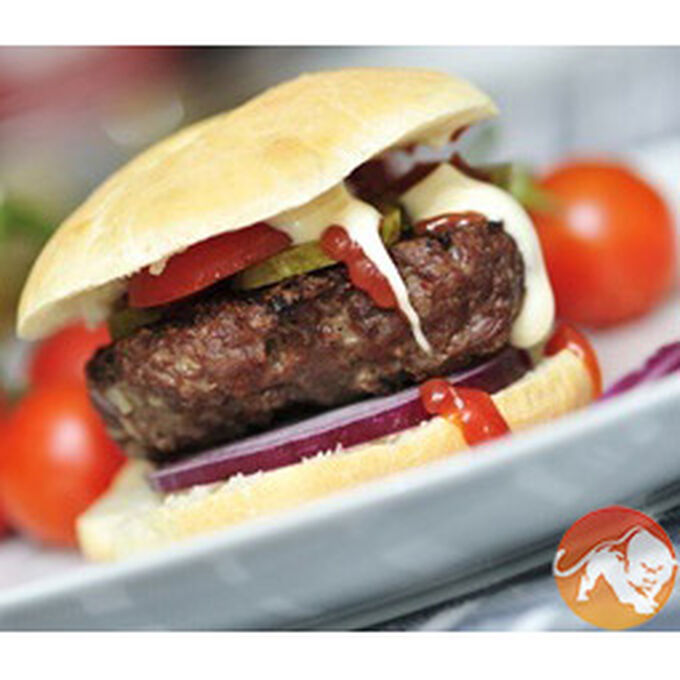Kezie Foods Wagyu Beef Sweet Chilli Burgers (2 in a 220g Pack)