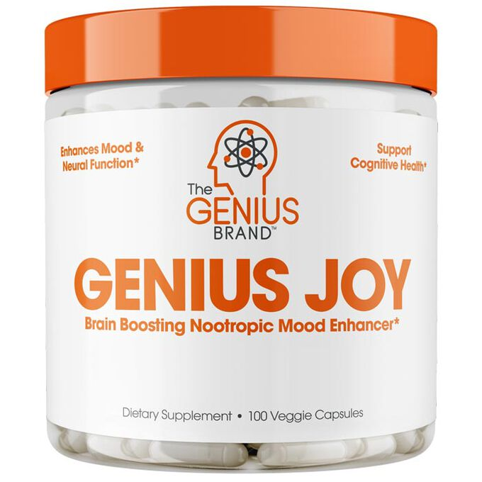 The Genius Brand Genius Joy - 90 caps