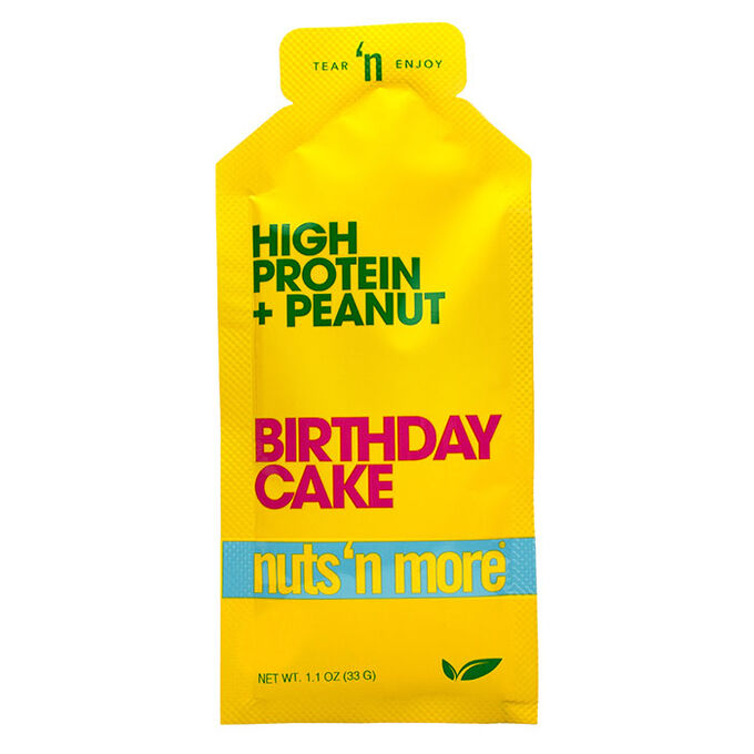 Nuts N More High Protein Peanut Butter 10 Pack Birthday Cake
