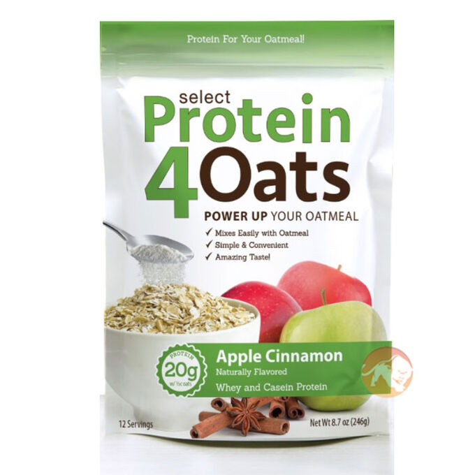 PEScience Protein4Oats 12 Servings Apple Cinnamon