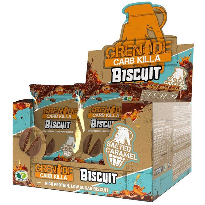 Grenade Carb Killa Biscuit 12 Biscuits Salted Caramel