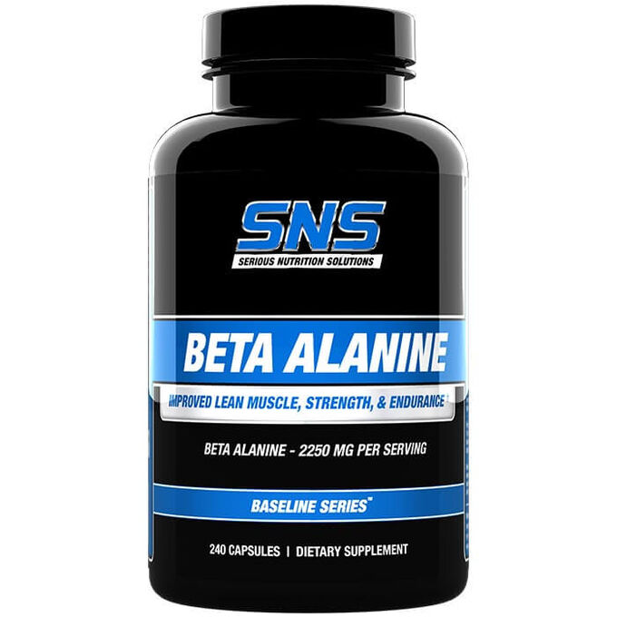 Serious Nutrition Solutions Beta Alanine 240 Caps