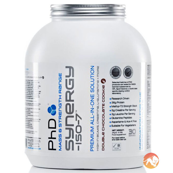 Synergy Iso-7 1KG Double Chocolate