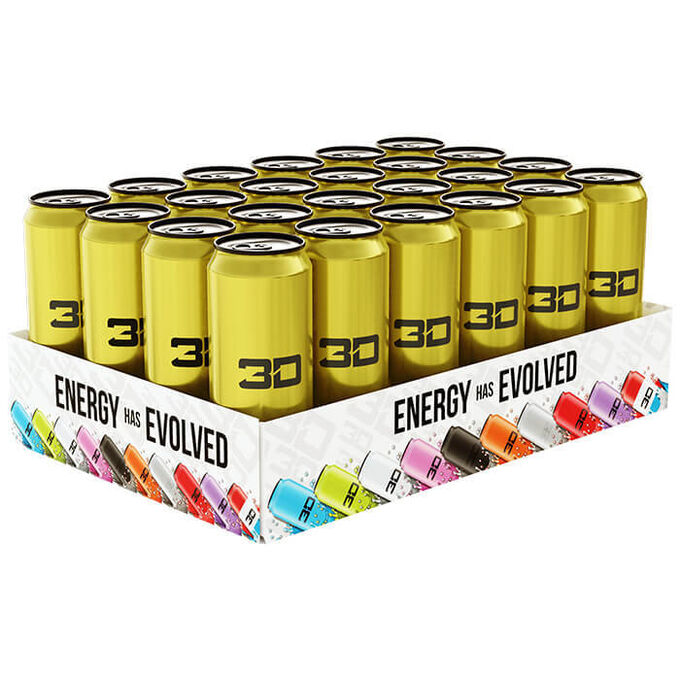 3D Energy 3D Energy Drink 24 Cans Gold