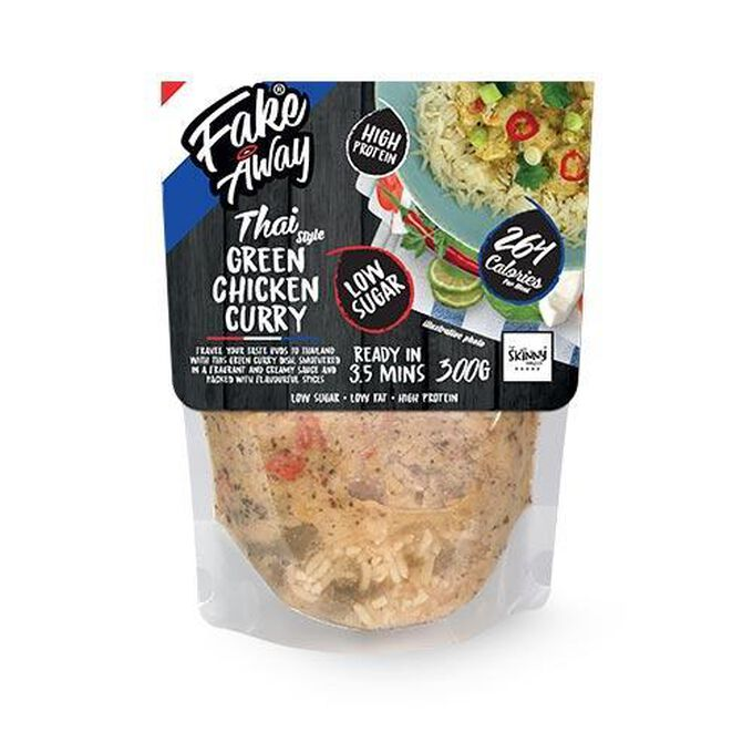 The Skinny Food Co Fake Away Thai Green Chicken Curry Ready Meal