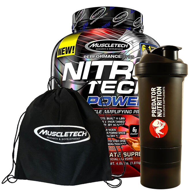 Nitro-Tech Power 908g Triple Chocolate Supreme