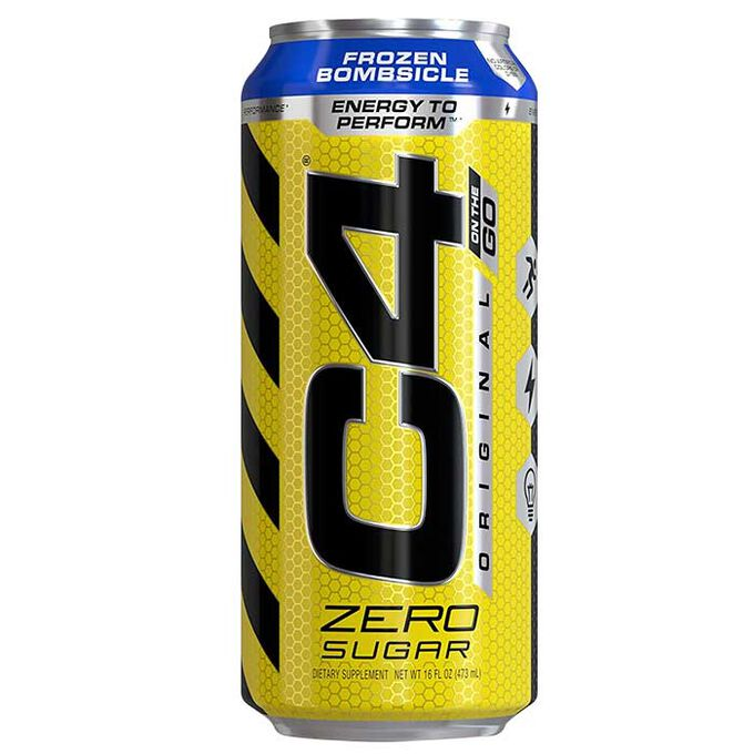 Cellucor C4 Carbonated RTD 1 Can Tropical Blast