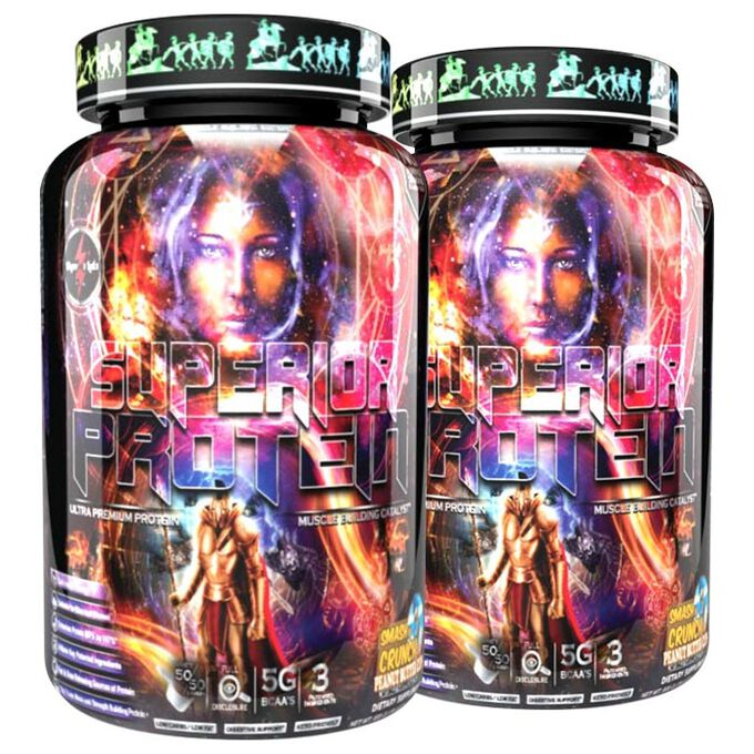 Olympus Labs Superior Protein Muscle Building Edition 25 Servings Not My Gumdrop Buttons