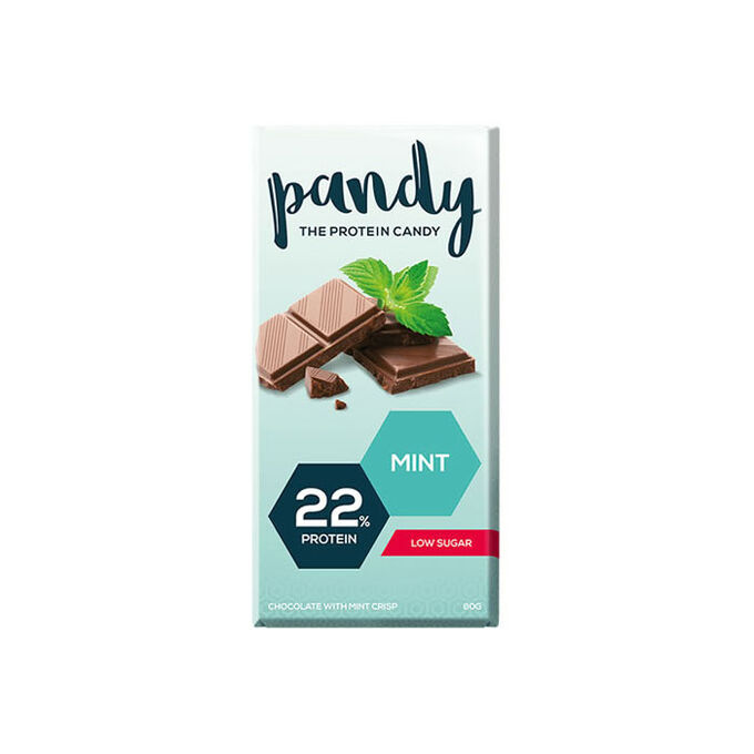 Pandy Protein Pandy Chocolate Bar Mint Crisp 1 Bar