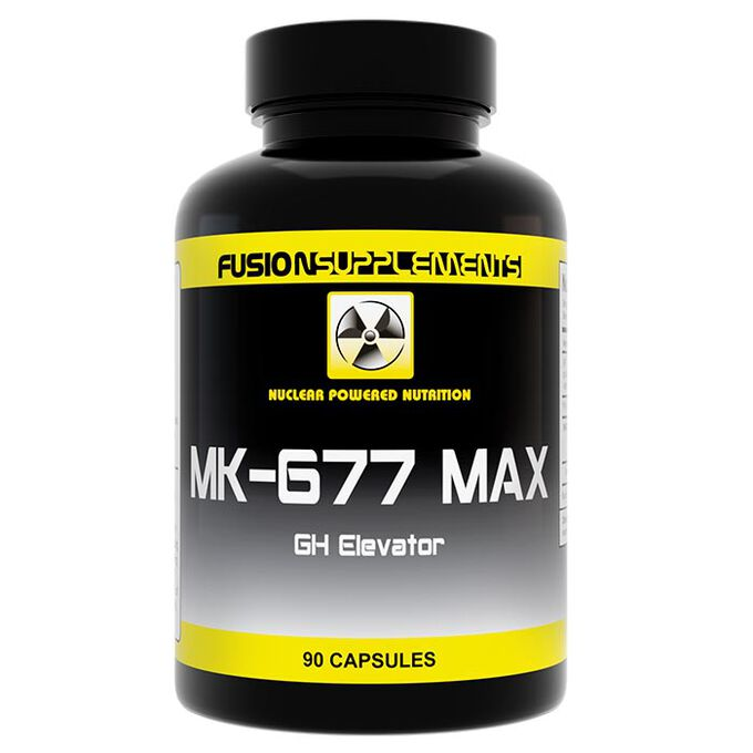 Fusion supplements MK-677 Max 90 Capsules