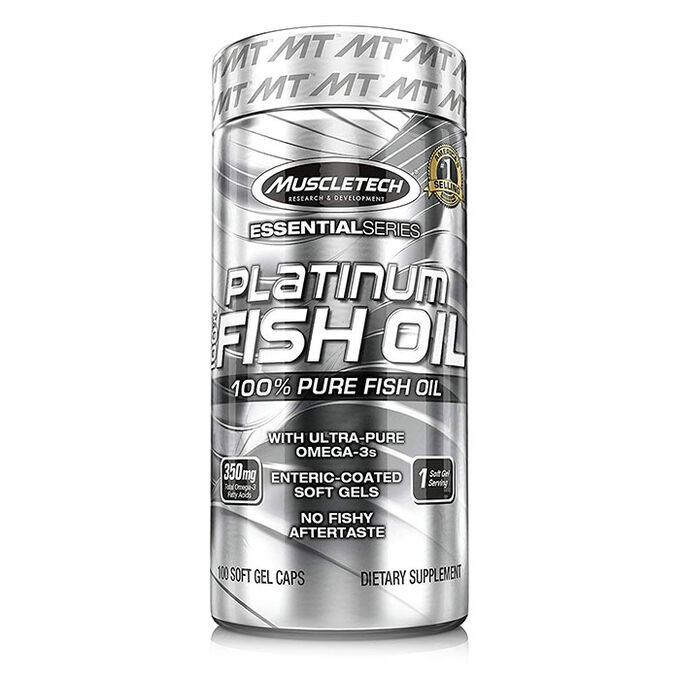 Platinum Fish Oil 4X 60 Softgels