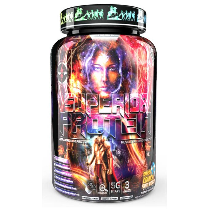 Superior Protein Muscle Building Edition 25 Servings Mocha Mermaid