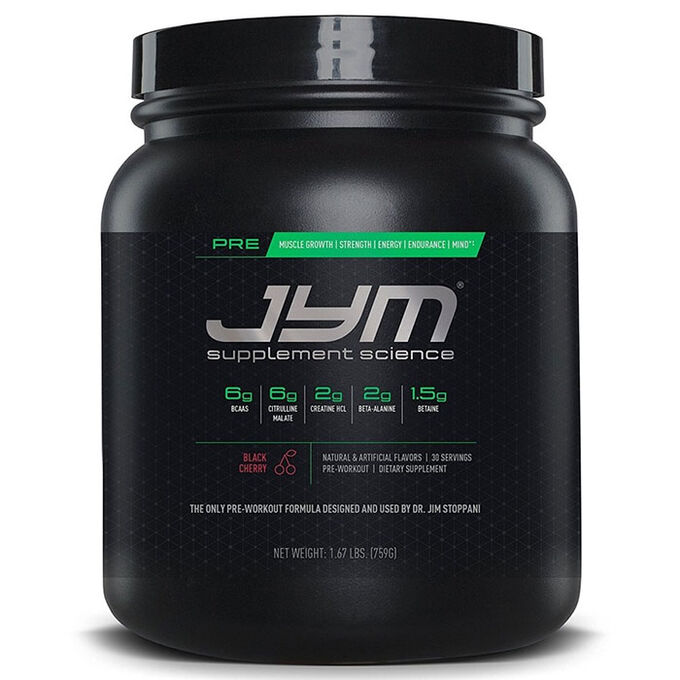 Pre JYM 30 Servings Natural Island Punch