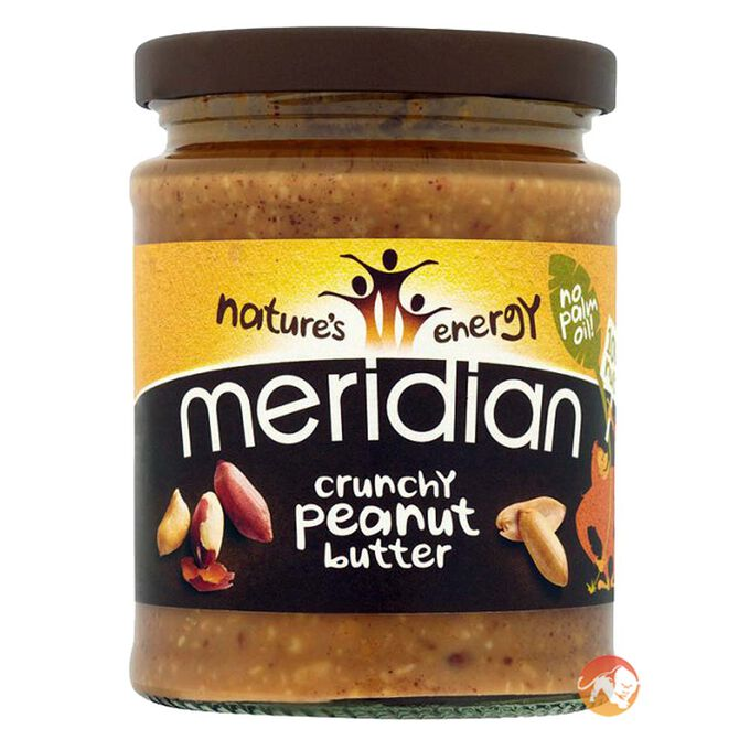 Meridian Crunchy Peanut Butter (no added sugar or salt) 1kg