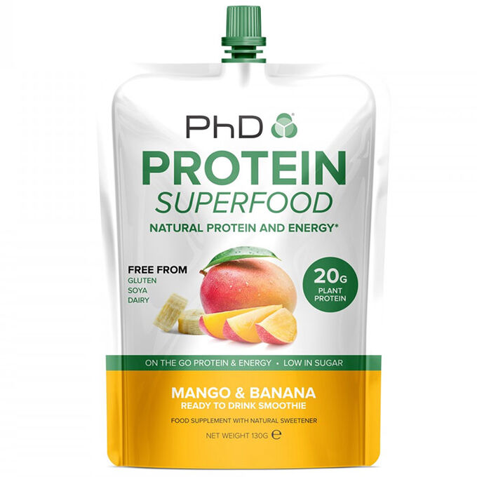 Protein Superfood Squeezy 1 Squeezy Mango & Banana