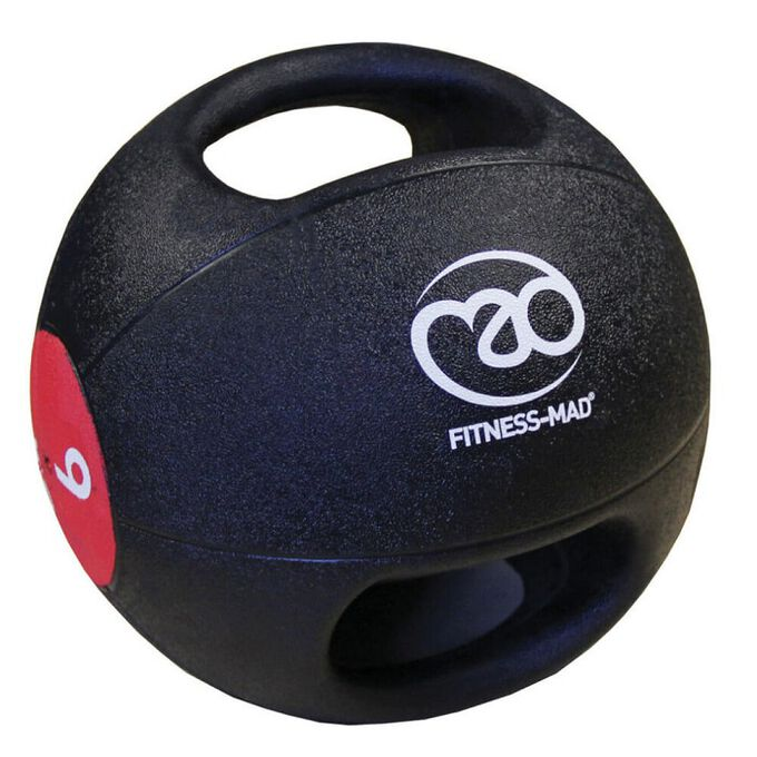 Fitness Mad Double Grip Medicine Ball 7KG