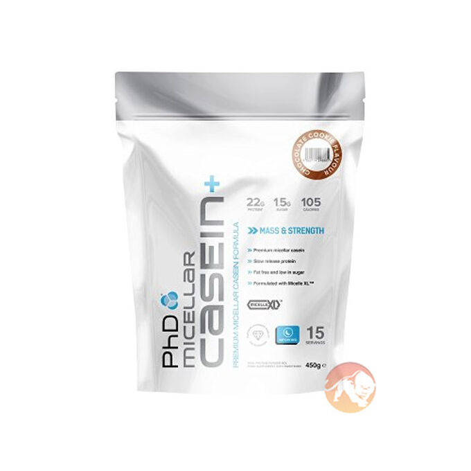 PHD Micellar Casein+ 900g-Strawberry Creme