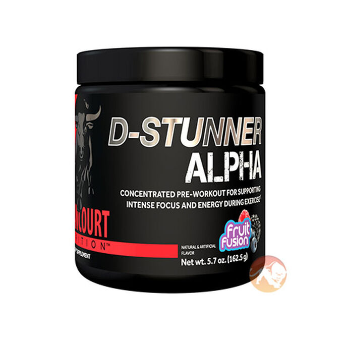 D-Stunner Alpha 25 Servings Lemon