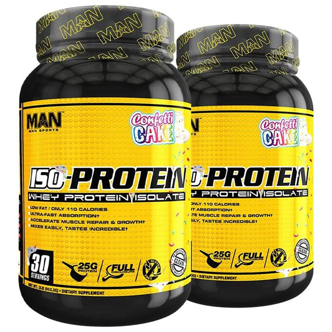 Man Sports Iso Protein 30 Servings Loopy Fruit