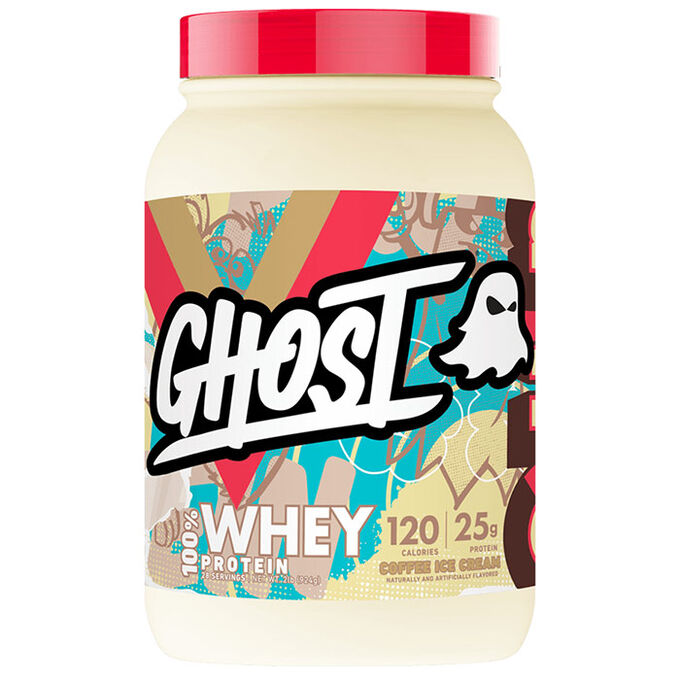Ghost Lifestyle Ghost Whey Protein 924g Coffee Ice Cream