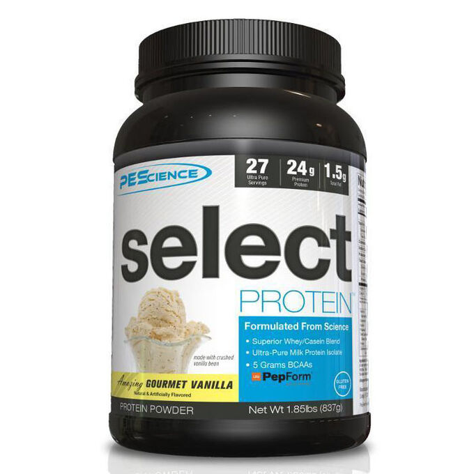 Select Protein 27 Servings Frosted Chocolate Cupcake