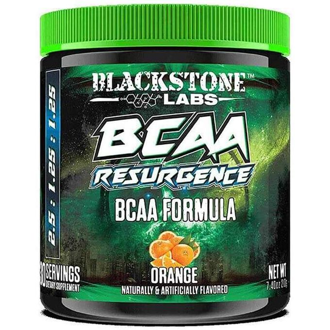 Blackstone Labs BCAA Resurgence 30 Servings Orange