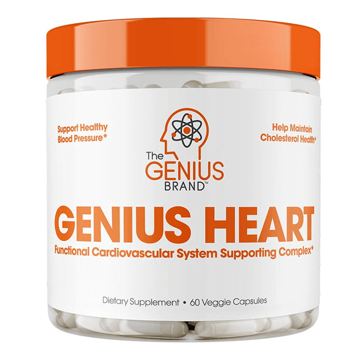 The Genius Brand Genius Heart 60 Capsules