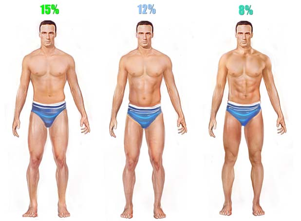 bodyfat percentage men