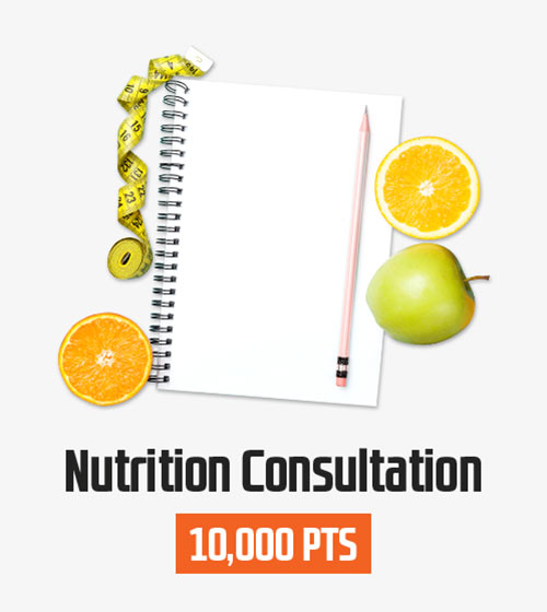 Nutrition Consulations with Professional PT