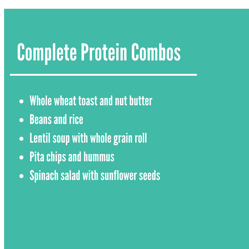 vegan complete proteins